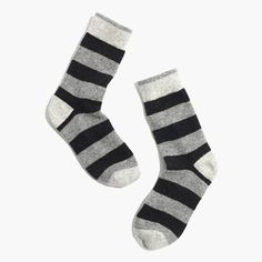 above-the-boot socks in bold rugby stripes