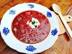 Populárna východoeurópska polievka známa najmä v Rusku a na Ukrajine. Ochutnajte ako chutí východ! Thai Red Curry, Ethnic Recipes, Food, Eten, Meals, Diet