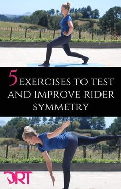 5 exercises to test and improve rider symmetry