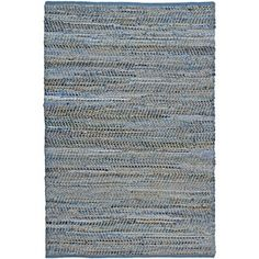 Shop for Hand Woven Blue Jeans Rug (8' x 10'). Get free shipping at Overstock.com - Your Online Home Decor Outlet Store! Get 5% in rewards with Club O!