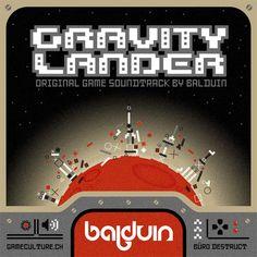 Gravity Lander Game Soundtrack Cover by Buro Destruct, via Flickr