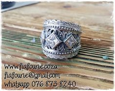 Love what I do! Chunky sterling silver designer ring. For a quote, email us: fiafourie@gmail.com