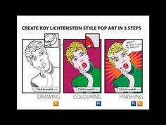 Create Roy Lichtenstein Style Pop Art in 3 Steps [Photoshop & Illustrator CS5]