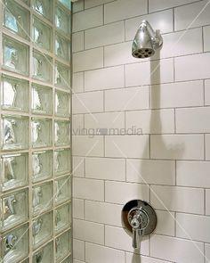 glasbausteine badezimmer wc. Black Bedroom Furniture Sets. Home Design Ideas