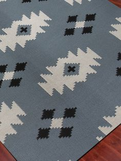 Zara Blue Area Rug | Wayfair