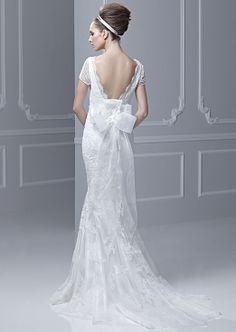 Wedding Event Dress That women love: 2014 Spring-Summer New York Wedding Dress Fashion Trend: Backless Wedding Dress Show off Bride's Sexy B...