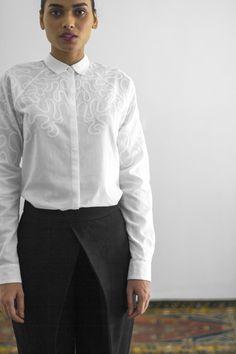 Chikan Paani Shirt & Jodhpur Silk Pant