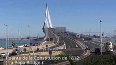 Places to see in ( Cadiz - Spain ) Puente de la Constitucion de 1812 ( La Pepa Bridge )  The Constitution of 1812 Bridge also known as La Pepa Bridge is a new bridge across the Bay of Cadiz linking Cadiz with Puerto Real in mainland Spain.  Cadiz's first bridge the Carranza bridge was inaugurated in 1969 and is now crossed by some 40000 vehicles per day. In 1982 the Spanish government accepted the need for a second bridge. Puente de la Constitucion de 1812 ( La Pepa Bridge ) will have two…