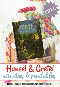These printable activities will take young learners through the story of Hansel and Gretel with a focus on early math and literacy skills. Fairy Tale Activities, Kids Learning Activities, Fun Activities For Kids, Kindergarten Activities, Preschool Crafts, Preschool Activities, Art For Kids, Crafts For Kids, Easy Crafts