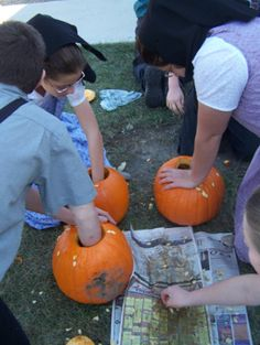 Eight ideas for using pumpkins in the classroom with ANY age, plus other activities to use around Halloween time!