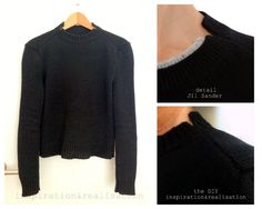 DIY - details inspired by Jil Sander // knitting pattern / charts