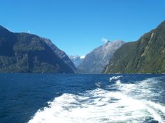 Milford Sound - New Zealand  http://the-pilots-daughter.com/