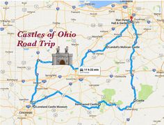 Grab your family and friends, gas up the car and take a long-weekend trip to see some of Ohio's most impressive castles.