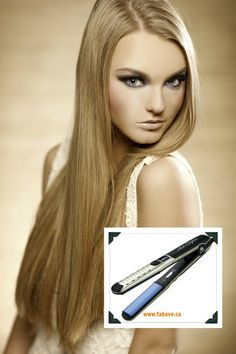 FITI Meilii Tourmaline Ceramic Universal Voltage Flat Iron Straighten, smooth, curl and wave, all with this versatile styling iron, FITI Meilii tourmaline plates heats up quickly to the highest temperature 460°F for different types of hair and styles. Universal voltage for worldwide use.. sale $89.95 reg $180