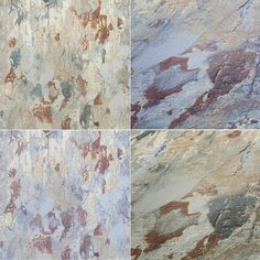 AS Creation Distressed Industrial Concrete Wallpaper Non Woven Vinyl Textured - Beige Blue Brown 37954-2