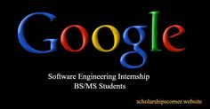 Paid Software Engineering Internship at #Google in USA  Currently enrolled in a full-time Bachelor's or Master's degree program in Computer Science or related technical field and returning to a full-time degree program after completion of the internship.  Deadline: June, 29, 2018  #Googleinternship #paidinternship Leadership Programs, Internship Program, Computer Science, Software, June, Student, Google, College Students