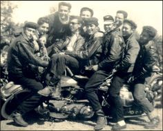 The Life - 50's Bikers group photo