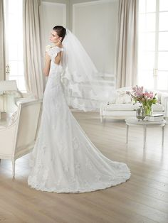 JANINA / Wedding Dresses / White One 2014 Collection / San Patrick (back)
