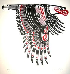 Magnificent Northwest Coast Native Indian Art prints from Free Spirit Gallery Native American Animals, Native American Symbols, Native American Design, American Indian Art, American Indians, Haida Kunst, Arte Haida, Haida Art, Native Canadian