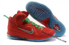 78dd44eea42 Nike Lebron 9 NBA Shoes Christmas Orange Grey Orange Grey