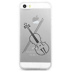 UV Printed TPU Phone Case - Orchestra Violin - Product Code: UV0108 - High Quality Flexible TPU Protective Case - Designs are printed with durable UV Ink - Durable & Easy to clean - Thin Profile (1.5m
