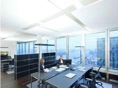 Glass wool acoustic ceiling clouds Ecophon Solo™ Rectangle - Saint-Gobain ECOPHON