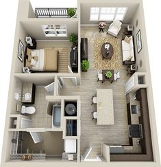 residential real estate leasing services find a qualified Home Design 2017, Sims House Design, Home Design Plans, 3d House Plans, Simple House Plans, Small Apartment Design, Apartment Layout, Style At Home, House Construction Plan