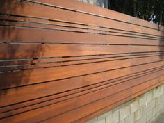 complex slat fence                                                                               More