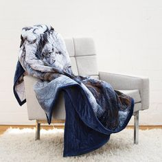 Our heart aches. The most glorious quilt we ever did see. Stunning navy blue velvet on the back and a marble print on the front. All hand quilted with a cotton fill. It's incredible and perfect for snuggles. Marble Bedroom, Velvet Quilt, Marble Print, Blue Quilts, Bedroom Inspo, Bedroom Ideas, Hand Quilting, Keep Warm, Blue Velvet