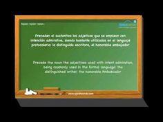 Adjetivos (III). Aprende español. Nivel intermedio. www.speakeando.com