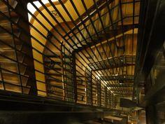 Treppenhaus in der Nagoya Burg , Japan