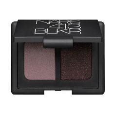 Duo Eyeshadow - 413 BLKR shimmering amethyst/ black with red pearl