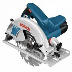 The GKS190 from Bosch is a lightweight, ergonomically designed and easy to use corded circular saw with a 1400W motor and 190mm blade that produces fast, accurate and consistent cuts in various types of hard and soft wood. Cutting to a maximum depth of 70mm and operating at speeds of up to 5500rpm, the power of the GKS190 is impressive and allows you to handle the job in hand with ease. It has a turbo blower built in and is easily connected to dust extractors, ensuring the work piece and… Sierra Circular Makita, Mini Sierra Circular, Hand Held Circular Saw, Best Circular Saw, Circular Saw Reviews, Electric Saw, Bosch Professional, St Bernards, Shopping