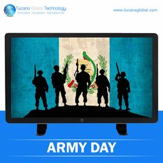 Today is #ArmyDay in #Guatemala