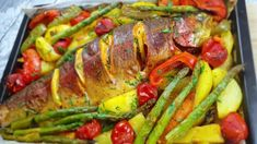 Salmon Recipes, Ratatouille, Asparagus, Food And Drink, Make It Yourself, Vegetables, Ethnic Recipes, Youtube, Kitchens