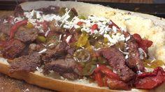 Pepper Steak Sub Sandwich by the BBQ Pit Boys