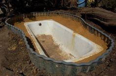 Zahrada Outdoor Life, Outdoor Decor, Ponds Backyard, Bathtub, Landscape, Exterior, Home, Project Ideas, Gardening
