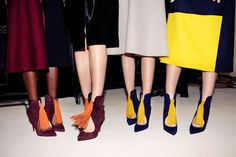 Click through the gallery to see Christian Louboutin shoes on the runways of fall New York Fashion Week. Fashion 2017, New York Fashion, Louboutin Online, Magic Shoes, Shiny Shoes, Christian Louboutin Outlet, Top Shoes, Ideias Fashion, Collection
