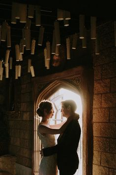 Harry Potter Inspired Wedding - floating candles