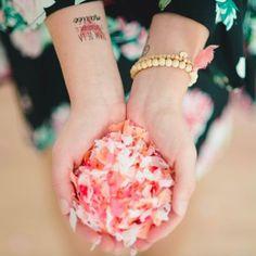 20 g confettis roses