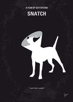 Snatch (2000) ~ Minimal Movie Poster by Chungkong #amusementphile