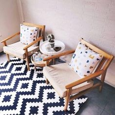Kursi Ruang Tamu Living Room Themes, Decorating Small Spaces, Love Seat, Accent Chairs, Couch, Furnitures, Community, Home Decor, Upholstered Chairs