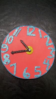Handmade Clock Paper Craft