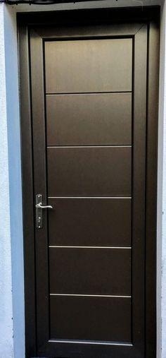 Carpinter a la fe de dios puertas principales y de - Pintar aluminio lacado ...