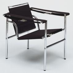 Le Corbusier (Charles-Édouard Jeanneret), Pierre Jeanneret, Charlotte Perriand, Armchair with a Tilting Back (Siège à Dossier Basculant), 1928
