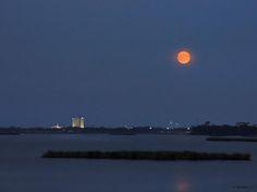 Moon over Biloxi