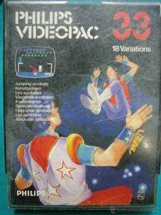Juego para consola Philips años 80