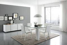 Elegant White Dining Made In Italy   Pictures, Photos, Images Contemporary Dining  Room Furniture,