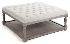 DIY Ottoman Coffee Table – when extra seating is needed ,,,,