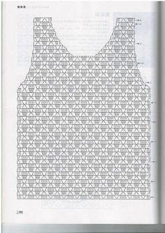 Fabulous Crochet a Little Black Crochet Dress Ideas. Georgeous Crochet a Little Black Crochet Dress Ideas. Débardeurs Au Crochet, Pull Crochet, Gilet Crochet, Mode Crochet, Crochet Shirt, Crochet Jacket, Crochet Diagram, Freeform Crochet, Crochet Woman